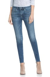 Vince Camuto Women's Two By Classic Five Pocket Skinny Jeans True Blue