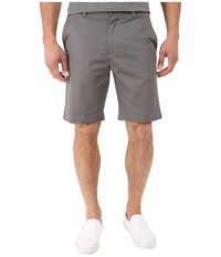 Perry Ellis Slim Fit Twill Shorts Castlerock Men's Shorts Gray