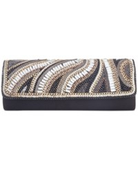 Inc International Concepts Rosiie Chain Clutch Only At Macy's Black