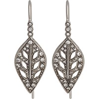 Cathy Waterman Women's Leaf Drop Earrings No Color