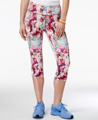 Material Girl Active Juniors' Printed Cropped Leggings Only At Macy's Wild Tiger