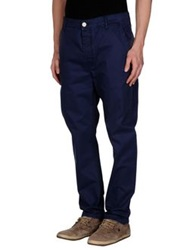 Brian Dales Casual Pants Slate Blue
