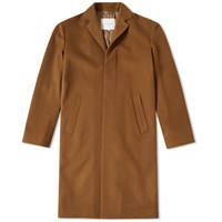 Mackintosh Casual Fit Classic Coat Brown