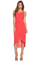 Ladakh Crosstown Dress Coral