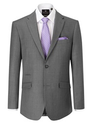 Skopes Kristoff Stripe Tailored Fit Suit Jackets Grey