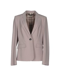 Burberry London Suits And Jackets Blazers Women Dove Grey
