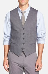 Men's Wallin And Bros. Solid Cotton Blend Vest
