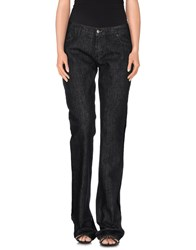 Gianfranco Ferre Gf Ferre' Denim Denim Trousers Women Black