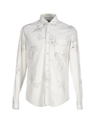 Roy Rogers Roy Roger's Shirts Shirts Men White