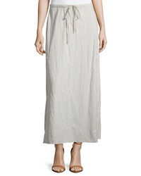 Jwla Embroidered Maxi Skirt Sand