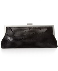 Style And Co. Darcy Small Frame Clutch Black