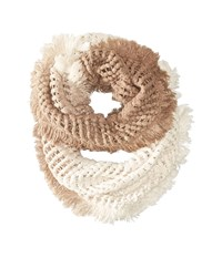 Steve Madden Made In The Shade Infinity Ivory Scarves White
