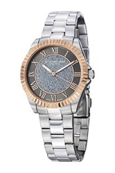 Stuhrling Women's Shimmer Sandpowder Center Swiss Quartz Watch Metallic