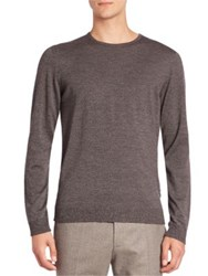 Strellson Milton Virgin Wool Sweater Grey