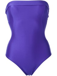 Lygia And Nanny Strapless Swimsuit Blue