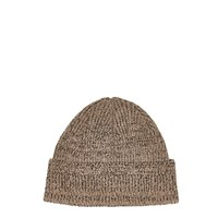 River Island Mens Light Brown Docker Beanie Hat