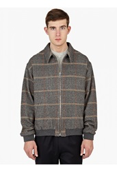 Melindagloss Grey Checked Tweed Jacket