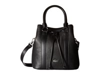 Lacoste Renee Bucket Bag Black Handbags