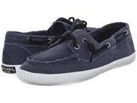 Sperry Sayel Away Washed Navy Women's Moccasin Shoes