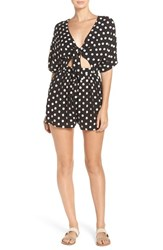 Mara Hoffman Women's Embroidered Cover Up Romper