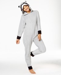 Pj Couture Character Hooded Jumpsuit Racoon