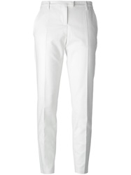 Moncler Slim Tailored Trousers Nude And Neutrals