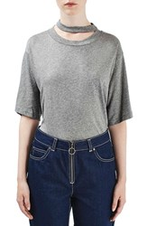 Topshop Women's Boutique Choker Tee
