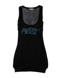 Nolita De Nimes Sleeveless T Shirts Black