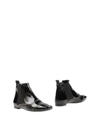 Signature Ankle Boots Black