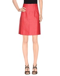Emporio Armani Skirts Knee Length Skirts Women Coral