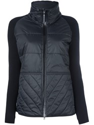 Adidas By Stella Mccartney Padded Knit Jacket Black