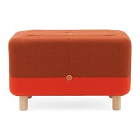 Normann Copenhagen Sumo Pouf Orange