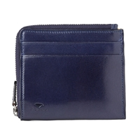 Il Bussetto Zip Wallet Navy