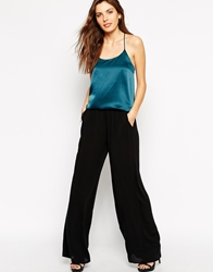 Bcbgeneration Wide Leg Palazzo Trousers Black