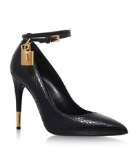 Tom Ford Snakeskin Court Shoes Female Black