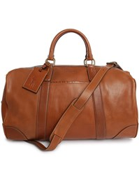 Polo Ralph Lauren Camel Weekend Leather Bag