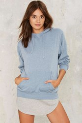 Griffith Park Hooded Sweater Blue