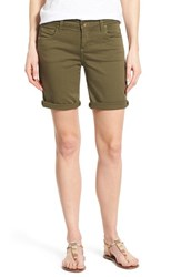 Women's Kut From The Kloth 'Catherine' Stretch Twill Boyfriend Shorts
