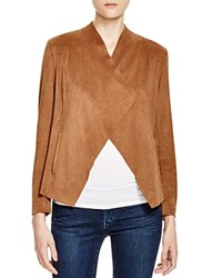 Prive Essential Faux Suede Jacket Latte