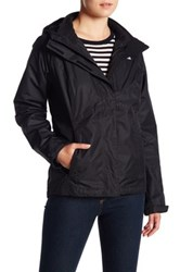 The North Face Fleece Lined Triclimate 2 In 1 Jacket Black