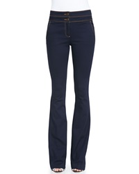 Veronica Beard Flare Leg Dark Stretch Jeans