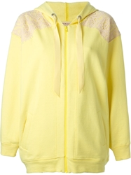 P.A.R.O.S.H. 'D4300262 Cofel' Hoodie Yellow And Orange