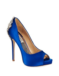 Badgley Mischka Kiara Platforms Stilettos Blue