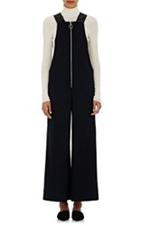 Cedric Charlier Women's Wool Blend Overalls Black