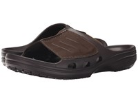 Crocs Yukon Mesa Slide Espresso Espresso Men's Slide Shoes Brown