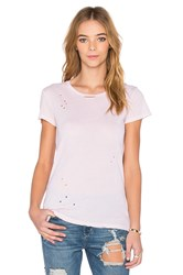 Stateside Short Sleeve Crew Neck Tee Blush
