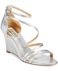 Badgley Mischka Carnation Ii Evening Wedge Sandals Women's Shoes