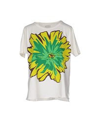 Rose' A Pois Topwear T Shirts Women Green