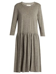 The Great Day Long Sleeved Jersey Dress Grey