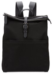 Mismo M S Express Black Canvas Backpack